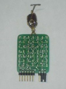 Completely assembled Matrix Medallion board