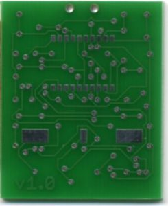 Matrix Medallion circuit board rear view