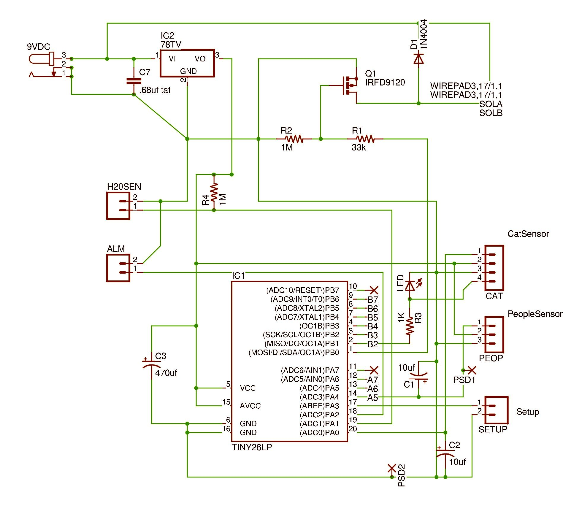 circuit diagram and source code sixerdoodle electronics rh jenrathbun com Complete Circuit Diagram Online Circuit Diagram
