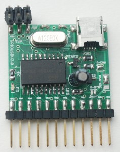 USBGPIO v2 populated board