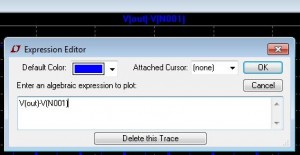 Modify the waveform expression as needed and click OK